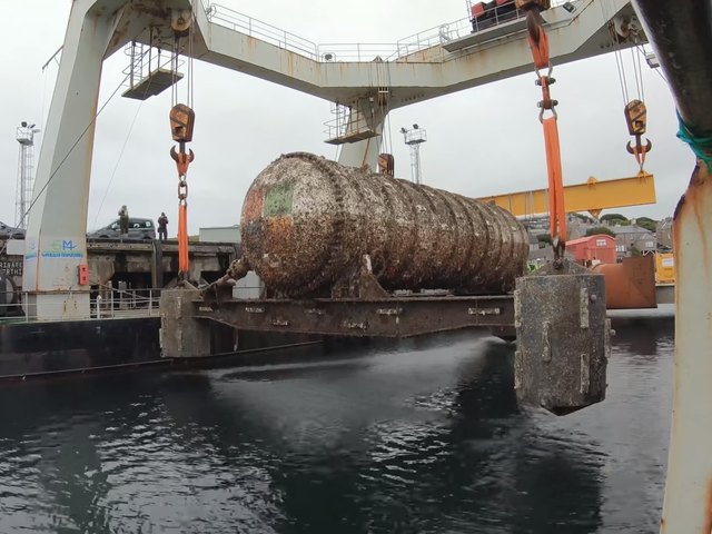 Microsoft's Underwater Data Center Rises From the Seafloor a Grimy Success