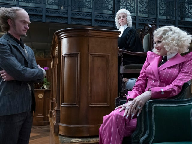 A Series of Unfortunate Events reveals answers and blindfolds