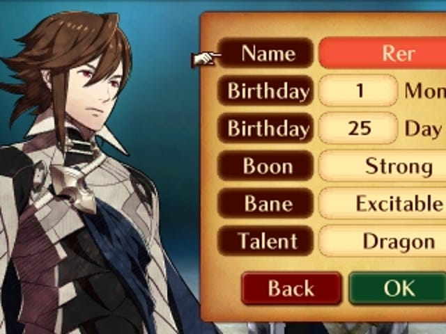 Excellence In Game Design: Fire Emblem Fates Menus