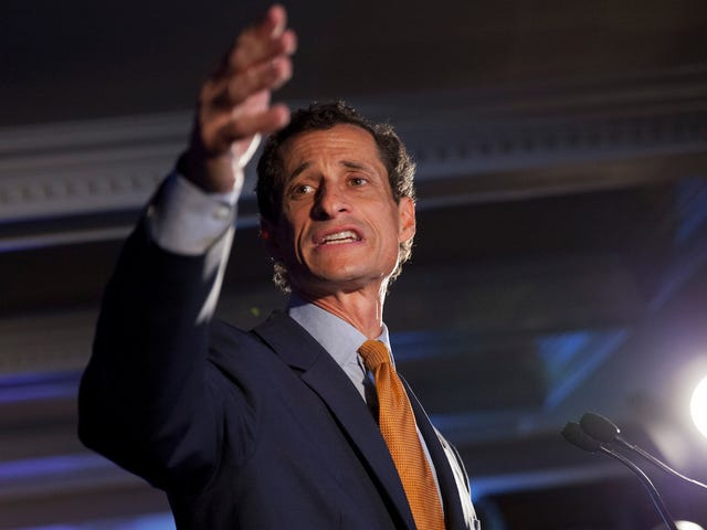 Actually, Whoops, Yes, Anthony Weiner Is Being Investigated By Child Services