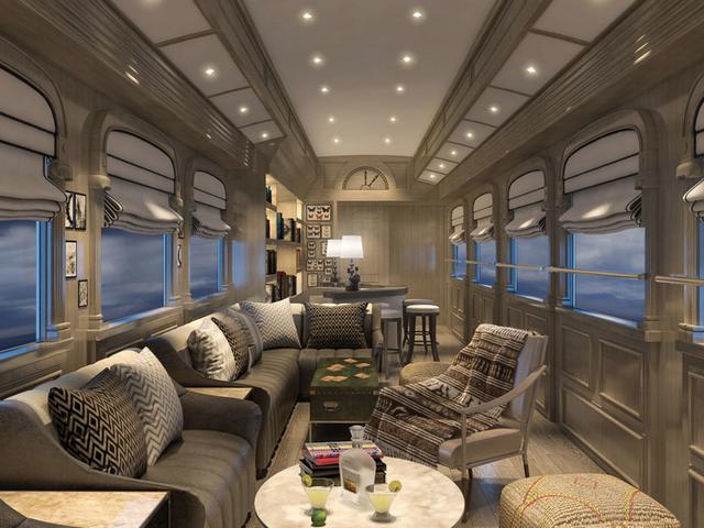Mierda, sí. Tren de cama peruana de lujo solo para mí.