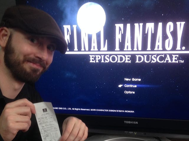 I Bought the Final Fantasy XV Demo for $18