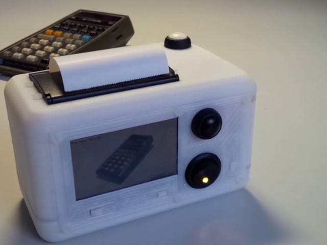 Build Your Own Polaroid Style Printing Camera With a Raspberry Pi and Thermal Printer