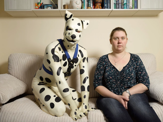 Forever In the Dog House, These Men Live Their Lives as 'Human Pups'