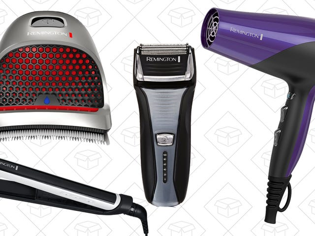 Trim, Style, Dry, or Remove Hair With This Remington Tool Sale from Amazon