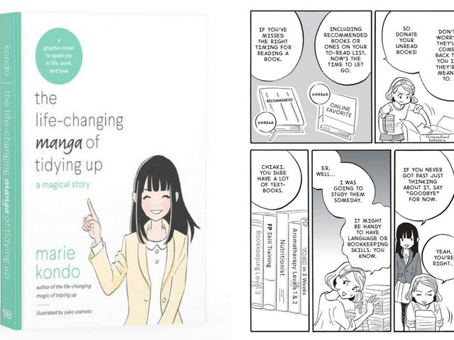 The Manga Version of The Life-Changing Magic of Tidying Up Is Getting Teens to Actually Declutter