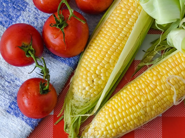 Legen Sie Brown Butter auf Summer Produce