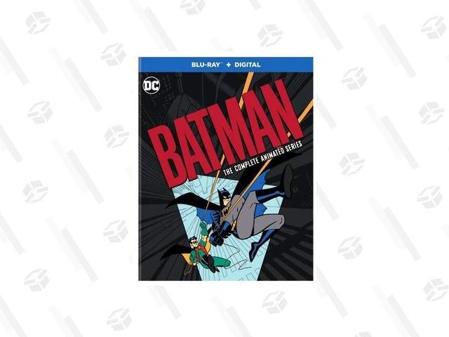 Hurtig, Robin!  Hent Batman: Den komplette animerede serie til den laveste pris nogensinde