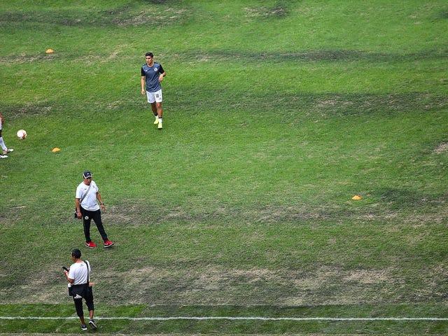Chiefs-Rams Mexico City spel kommer att flyttas till Los Angeles eftersom fältet är för Crummy