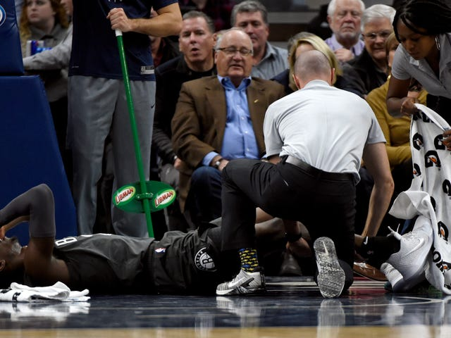 Despite That Gruesome Ankle Injury, Caris LeVert Might Return This Season