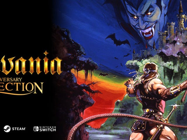 Konami's New Anniversary Collections Bundle Castlevania, Contra And More
