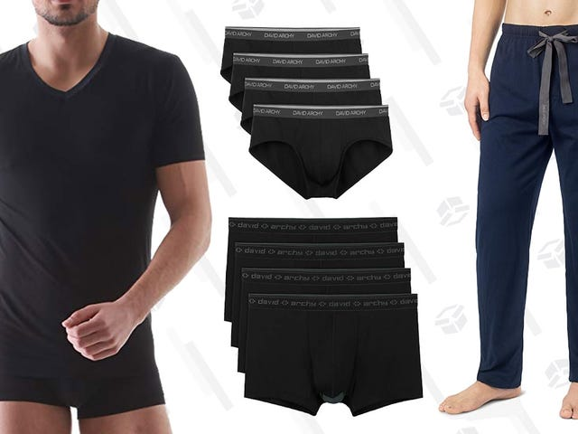 Stock Up On Affordable Men's Basics From This David Archy Amazon Sale