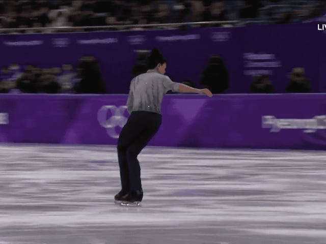 The Youngest American Olympian, Vincent Zhou, Nailed The Games' First-Ever Quad Lutz