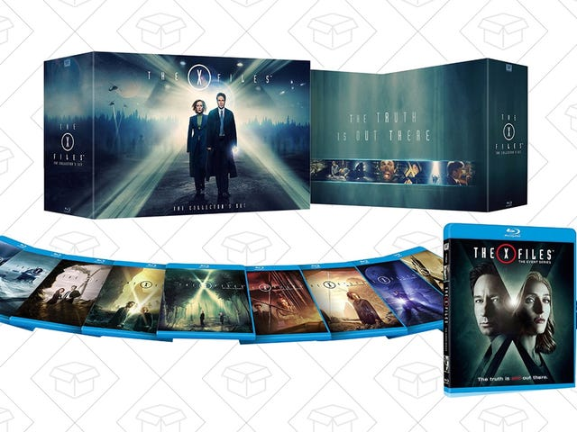 The Deal Is Out There: Own the Complete X-Files Blu-ray For an All-Time Low Price