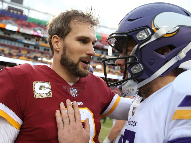 Report: Kirk Cousins Plans To Go Cheerfully Shout At Vikings Fans For Three Years