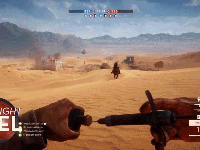 <i>Battlefield 1</i> Medic Poisons Jockey ผู้กล้าหาญ