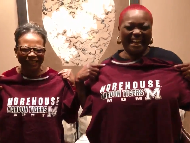 Guess What? I Got In! Ferguson, Mo., Teen Gives Mom and Aunt a Morehouse Christmas Surprise
