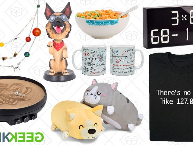 Take a Bite Out of ThinkGeek's Huge Pi Day Sale
