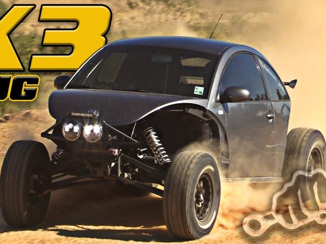 Remember that VW bug on a rzr chassis?