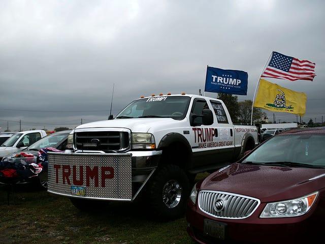 L'amour du président pour les gros camions est raciste