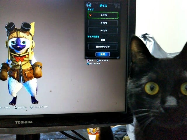 Real Cats React To Monster Hunter: World's Meowing