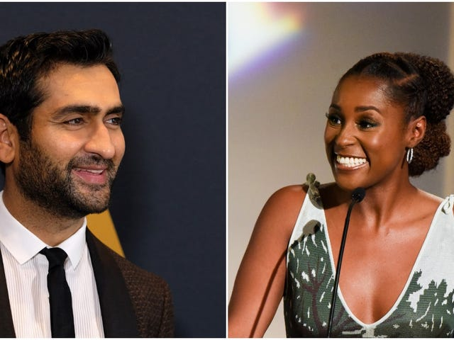 Kumail Nanjiani and Issa Rae are doing the rom-com thing, and we're pretty here for it
