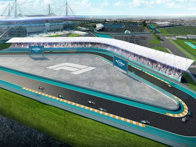 F1 Strikes Preliminary Deal To Hold 2021 Race At Miami Dolphins Stadium