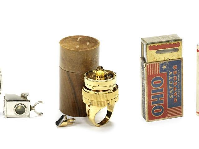 14 prachtige clandestiene camera's uit de gouden eeuw van spionage