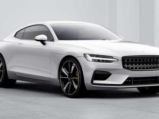 The Polestar 1 Is A Wildly Advanced 600 HP Hybrid Sports Coupe You Can't Really Own