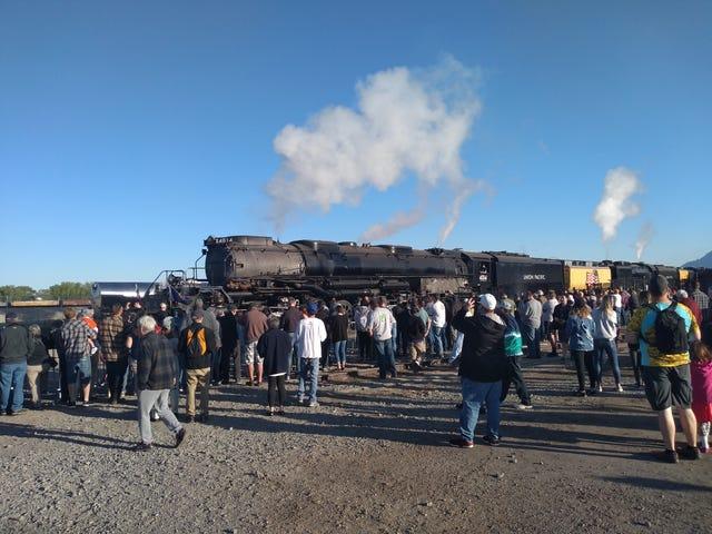 Big Boy Trainlopnik (awkward selfie alert)