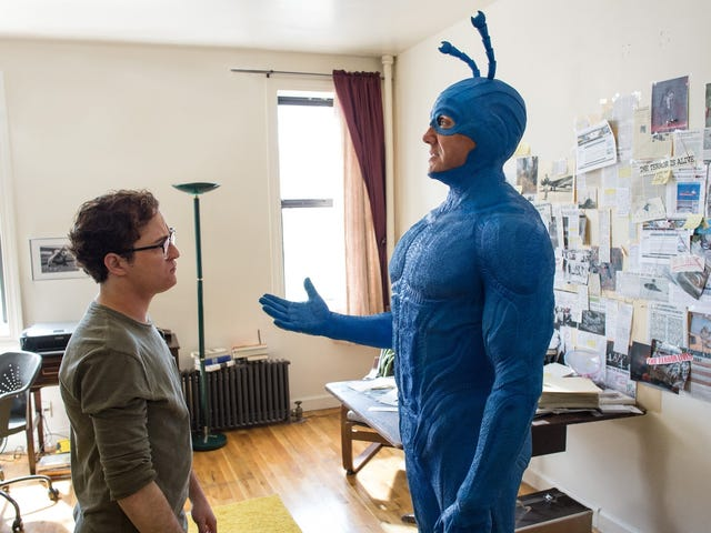 The Tick Shows Off More of Its Heroes, Villains, and the Main Character's Weird-Ass New Outfit
