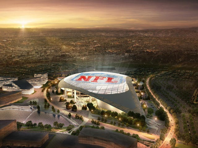 The Big Problem With LA's New Football Stadium
