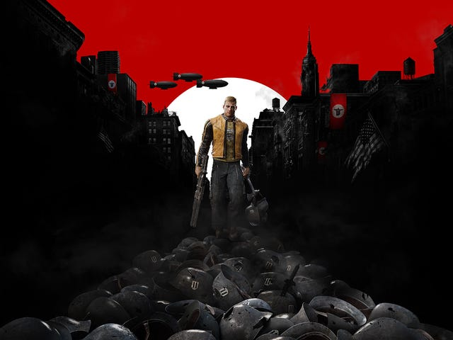 We're continuing our playthrough of Wolfenstein: The New Order live now on Twitch
