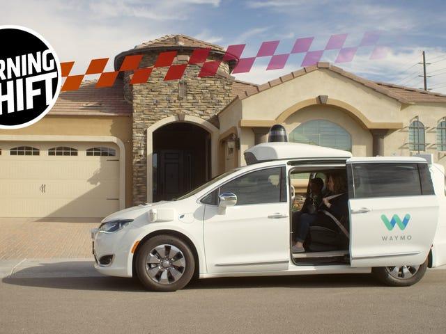 Miles de autos sin conductor vienen a Waymo de Fiat Chrysler