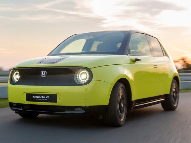 La Honda E est la voiture électrique que j'ai attendue