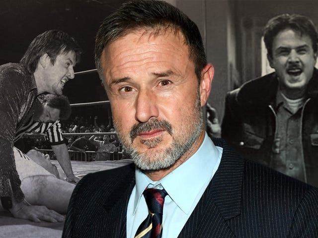 David Arquette tells us how he survived Scream and what drew him to the wrestling ring