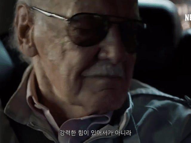 Dumbass Iron Fist Nearly Murders Stan Lee in Bizarre Netflix Ad