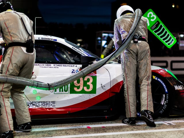 The Late Night Le Mans Party Took The Seventh Retirement Of The Race Before Dawn Even Broke