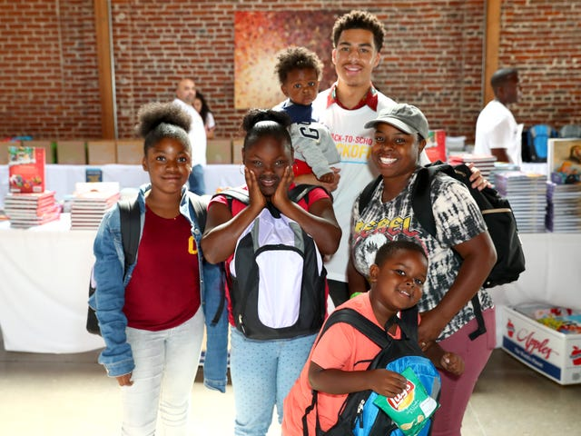 Black-ish's Marcus Scribner Launches Campaign to Help Families in Need Kick Off the School Year