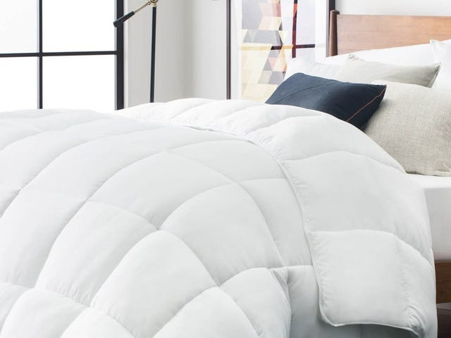 Upgrade Your Bed With This Discounted Down-Alternative Comforter