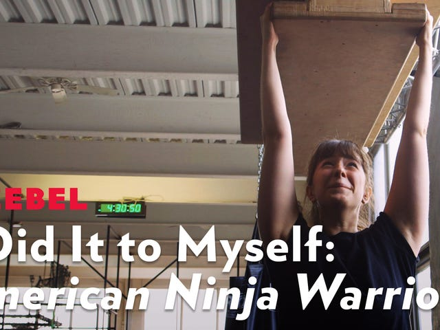 Mendapatkan Sentuhan Dengan Sikap Besar Saya Melalui Latihan Ninja Warrior Amerika