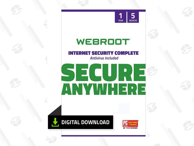 Protect Your PC or Mac from Viruses With Webroot, Starting at $15