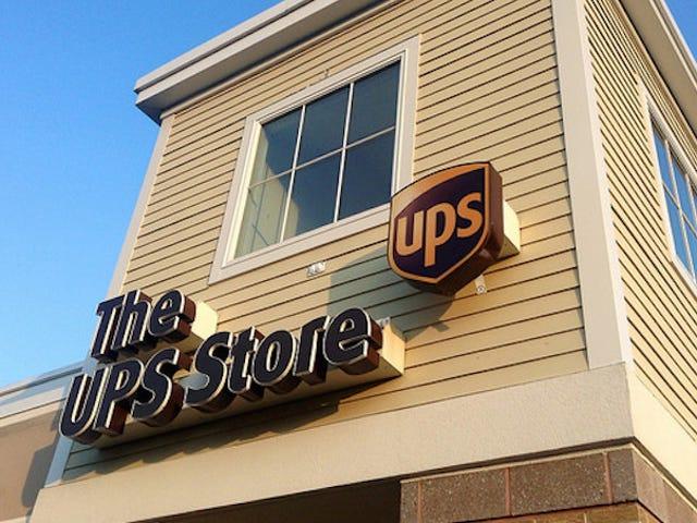 UPS staat op het punt om hun tarieven te verhogen