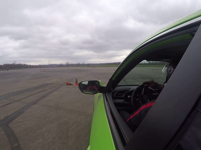 Autocrossing a Civic