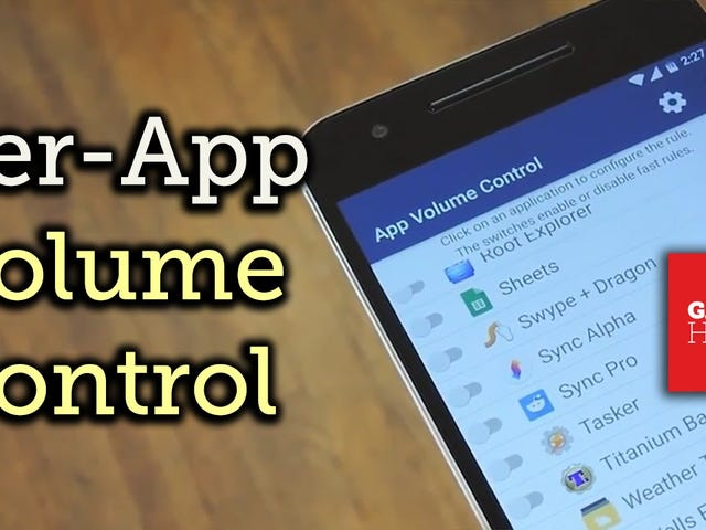 App Volume Control Lets You Change Your Phone's Volume Per App