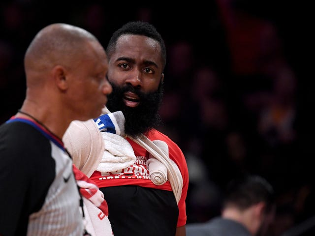 The Notoriously Rule-Bending Rockets Whined About The Refs In Their Loss To The Lakers