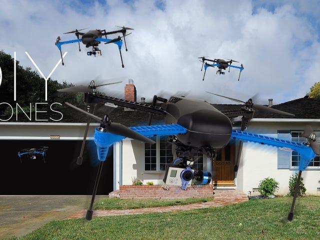 Är DIY Drone Movement om att starta en miljarder dollarindustri?