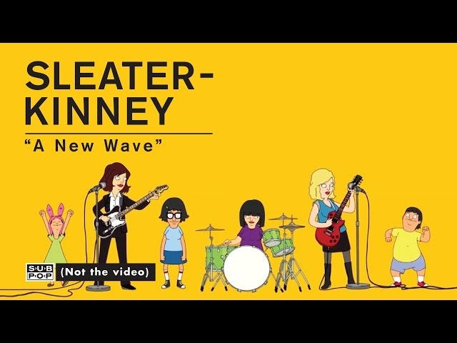 Ang Belchers Rock Out To Sleater-Kinney sa bagong Video na ito