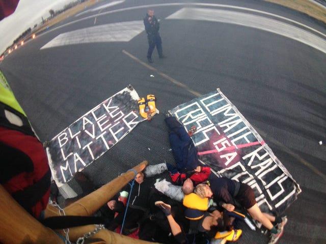 """BLM UK: """"Il cambiamento climatico è razzismo ambientale"""""""