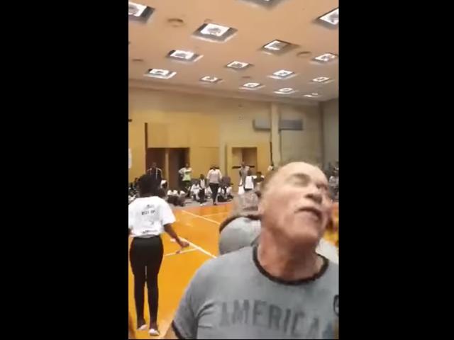 "Man Dropkicks Arnold Schwarzenegger, Screams ""Help Me, I Need A Lamborghini"" As Security Drags Him Away"